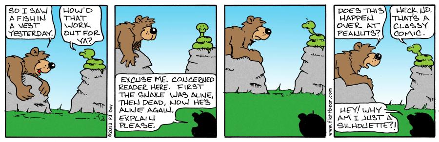 A Classy Comic