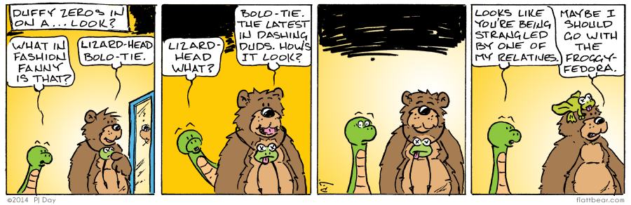 It's sweeping the nation.  The world.  Well, this strip anyway.