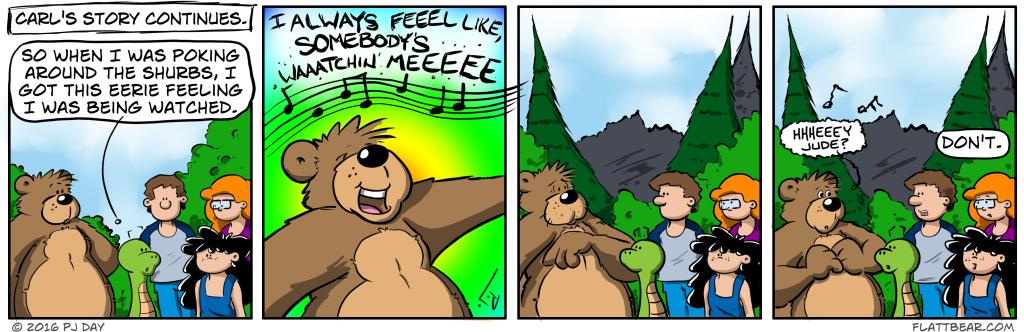 Except, I'm a better singer.
