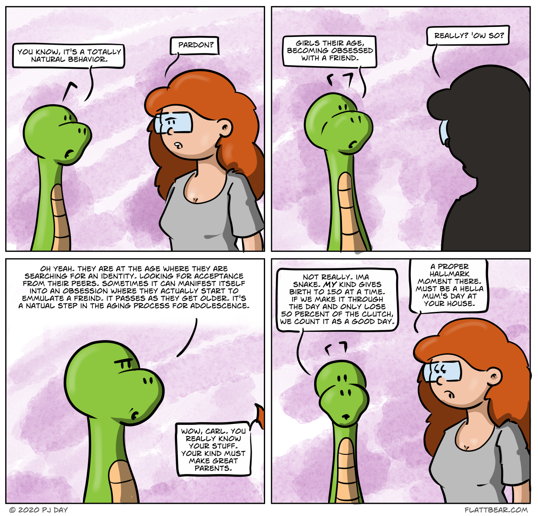 Snake parenting